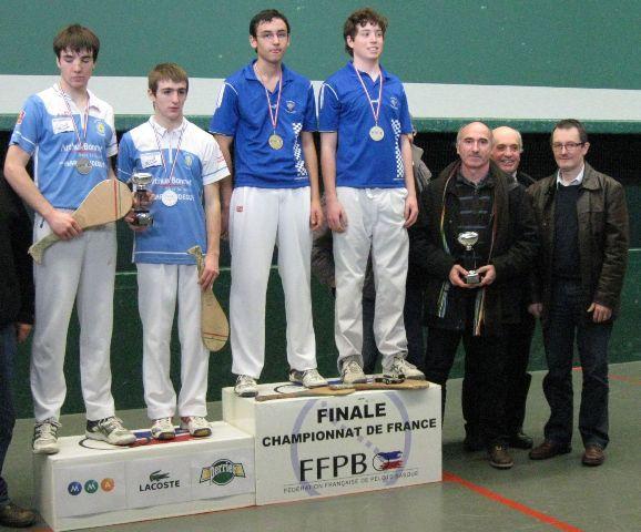 Le podium des cadets - 67.1ko