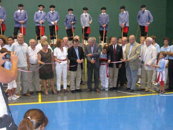 08 septembre 2012 - Inauguration du mur à gauche de Bazas - 60.3ko