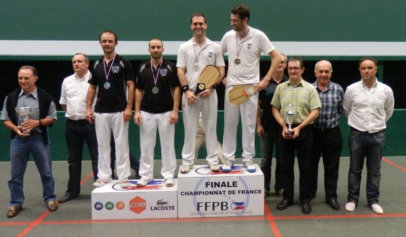 16 juin 2012 podium finale paleta pelote gomme creuse NAT A - 73ko