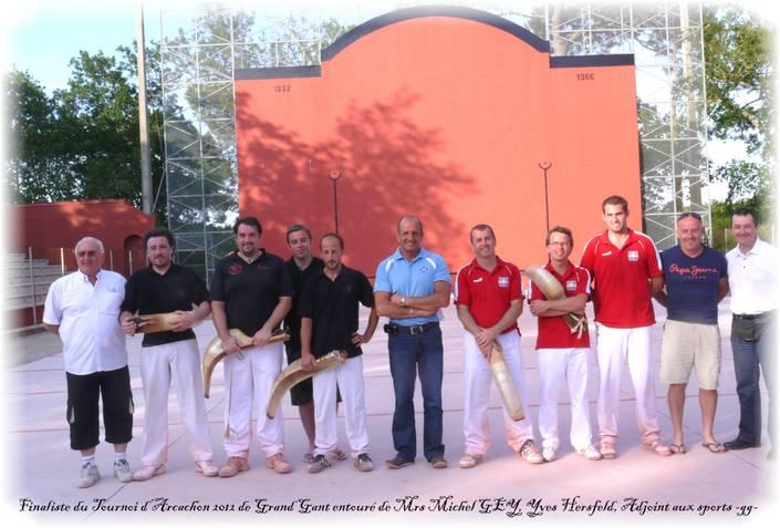 Les finalistes du tournoi préliminaire 27 mai 2012 - 54.3ko