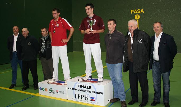 Le podium junior Julien PLANTE et Guillaume Nicol - 92.4ko