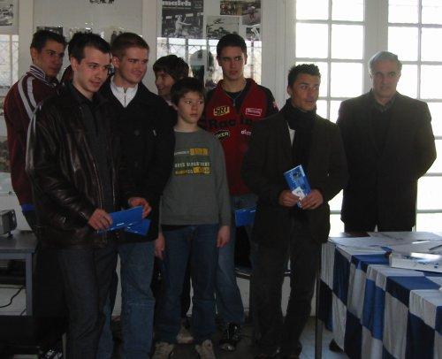 Quelques uns des jeunes récompensés - 33.8ko