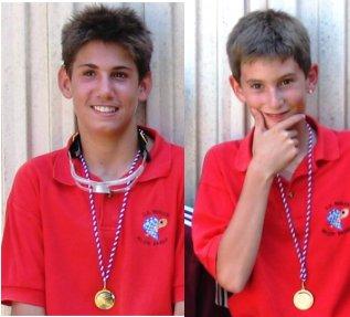 Guillaume Nicole et Antoine Gonzalez, Champions UNSS 2005 - 20.5ko