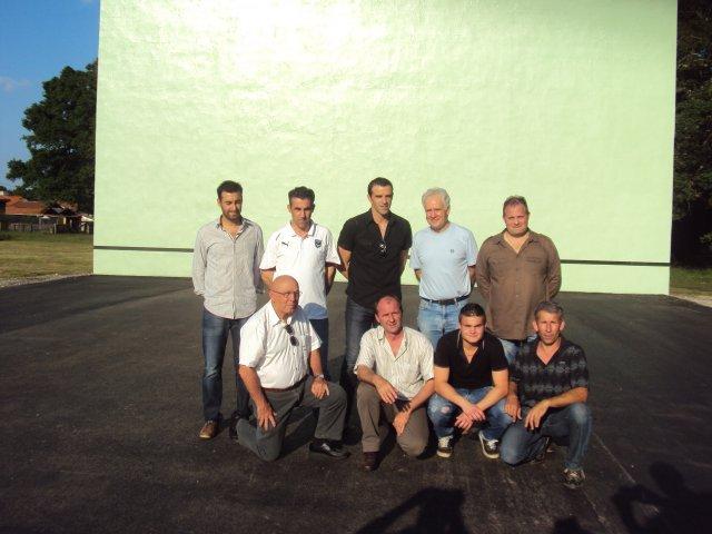 Les invités et les responsables du club - 51.5ko